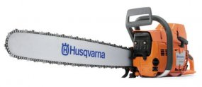 Husqvarna 395XP Petrol Chainsaw.